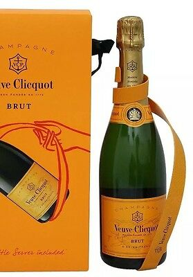 Veuve Clicquot Ribbon Bottle Holder  New Unboxed