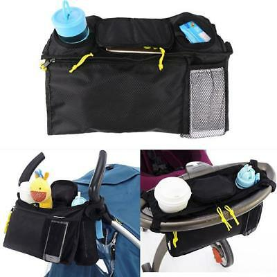 Kids Baby Stroller Pram Organiser Tray Hanging Bag/Cup Holder Accessories SO