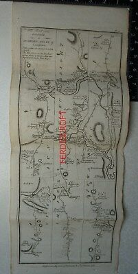 1776 Taylor & Skinner - Road from Port Patrick to Dumfries, Annan and Longtown