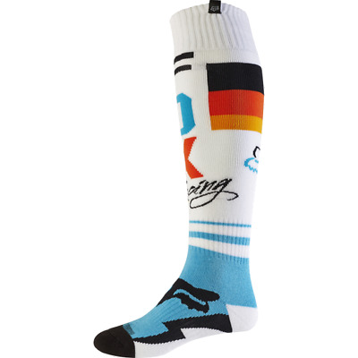 FOX Fri Rohr Thin Sock White