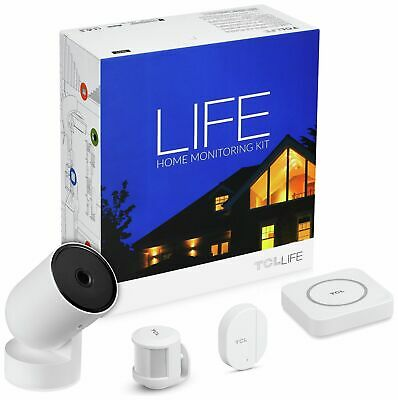 TCL LIFE WIFI 720P HD LifeCam Door Sensor Motion Sensor Home Monitoring Kit