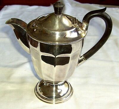 Vintage Silver Plated 1.5 Pint Tea/Coffee Pot Epns A1 1940`S -50`S