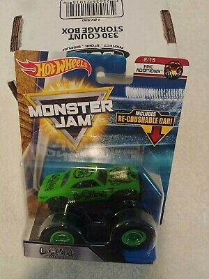 a39554a2 Hot Wheels Monster Jam 2018 New Gas Monkey Garage W/ Re Crushable Car