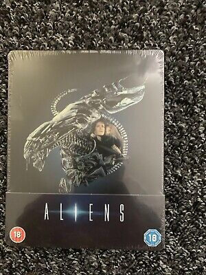 Aliens 30 Year Annverisary Steelbook Blu Ray Brand New And Sealed