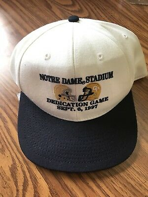 Notre Dame George Tech Dedication Game September 6 1997 9/6/97 NWT New Tags