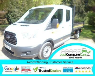 2016 Ford Transit 2.2TDCi 125 350 L3H1 Double Cab 1-Way Tipper