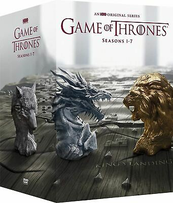GAME OF THRONES Complete Series Seven Season 1-7 DVD Box Set New Fast Shipping