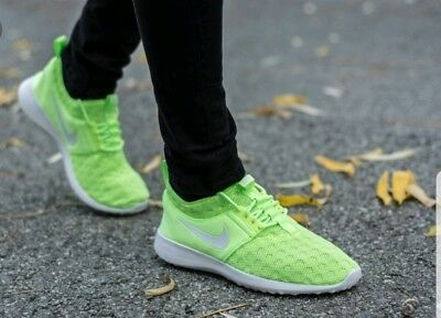 best service febcc fb413 Womens ghost green white Nike juvenate running shoes trainers size 7 EU 41