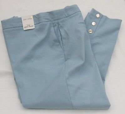 Marks /& Spencer Cotton Rich Tapered Ankle Grazer Chino BNWT £28.50 Navy or Green