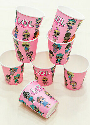LOL Doll Surprise Birthday Party Supplies CUPS Decoration Balloon DIVA