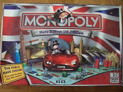 Monopoly Here & Now UK Edition Board Game