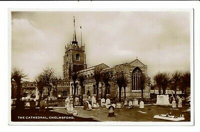 CPA-Carte postale -Royaume Uni Chelmsford-The Cathedral-1954   VM2379