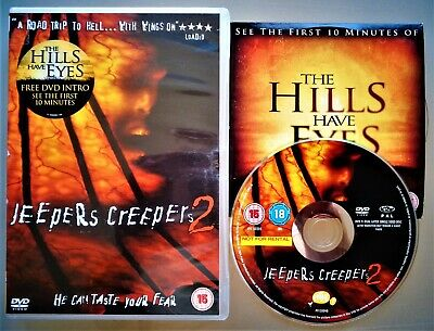 JEEPERS CREEPERS 2 DVD ~ 2003 School Bus Horror Sequel ~ Ray Wise UK R2 VGC