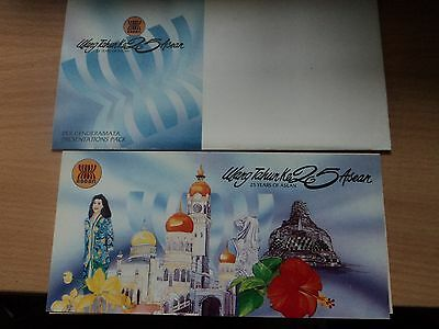 Malaysia 1992 8 Aug Presentation Pack 25th Anniversary of ASEAN