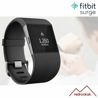 Fitbit Surge GPS Fitness Activity Tracker With Integrated HRM - Black - Small