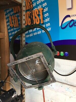 Strand Patt 123 - Electric Vintage Retro Theatre Stage Light Lantern 1950s