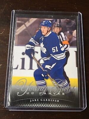 2011-12 Upper Deck Canvas Jake Gardiner Young Guns Rookie #C114 Maple Leafs