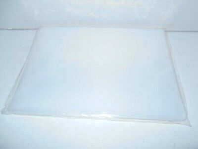 """ULINE S-2385 Poly Bag 12""""x15"""" 2 Mil 1 Package of 100 bags Flat Top Open Top"""
