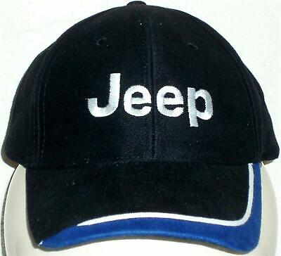 Unisex Baseball Cap with Embroidered Jeep Car Logo