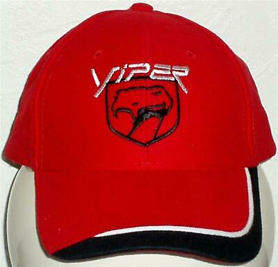 Unisex Baseball Cap with Embroidered Dodge Viper Car Logo