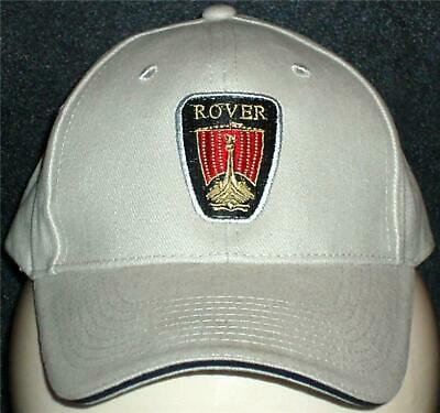 Unisex Baseball Cap with Embroidered Rover Car Logo