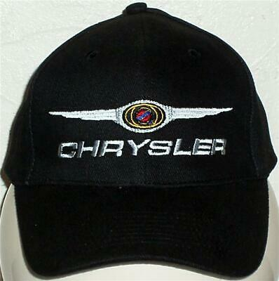 Unisex Baseball Cap with Embroidered Chrysler Car Logo
