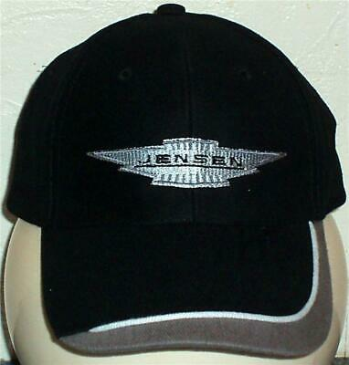 Unisex Baseball Cap with Embroidered Jensen Car Logo