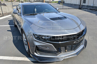 FITS 14-15 CHEVY Camaro SS A Style Front Bumper Lip Spoiler