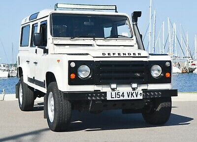 1994 Land Rover Defender COUNTY STATION WAGON Land Rover Defender 110 county SW 200tdi Turbo Diesel Clean FL Title