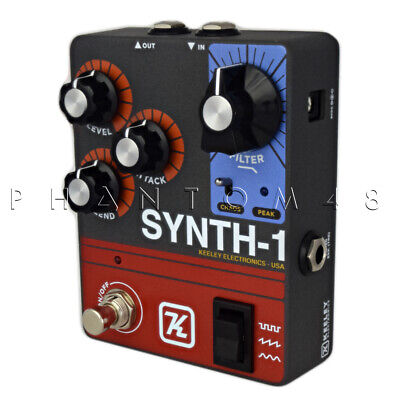 Keeley Synth-1 Synth Generator Guitar Effects Pedal - NEW