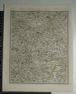1794 - John Cary Map 51 - Part of Yorkshire