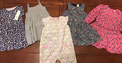 Baby Girls Dress Clothing Bundle 18-24 months-11/2-2yrs F&F,TU,MINI CLUB,H&M