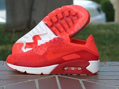 MENS AIR MAX 90 Ultra 2.0 Flyknit 875943 100 Sneakers Shoes