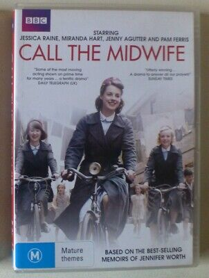 CALL THE MIDWIFE SEASON 1 dvd REGION 4 medical COMPLETE FIRST SERIES drama BBC