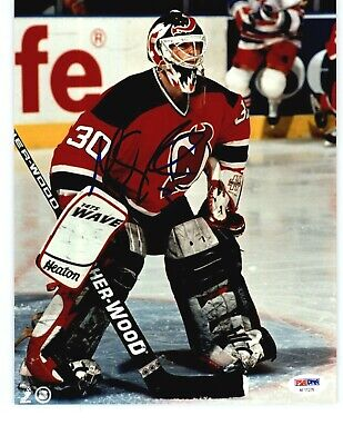 Martin Brodeur Signed New Jersey Devils 8x10 Photo Jsa G84821
