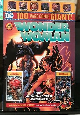 DC 100-PAGE Comic GIANT Walmart WONDER WOMAN # 3 Wal Mart JUSTICE LEAGUE AMERICA