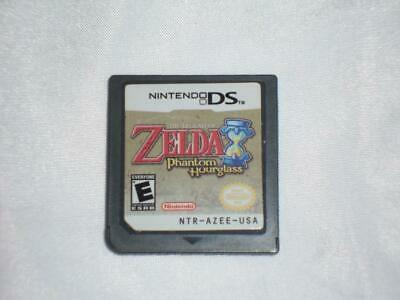 The Legend of Zelda: Phantom Hourglass (Nintendo DS, 2007) Cart Only Tested -Q25