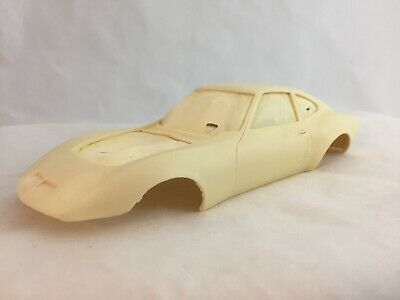 Vintage 1/25 Resin Works Opel GT Body and Wheels, in box