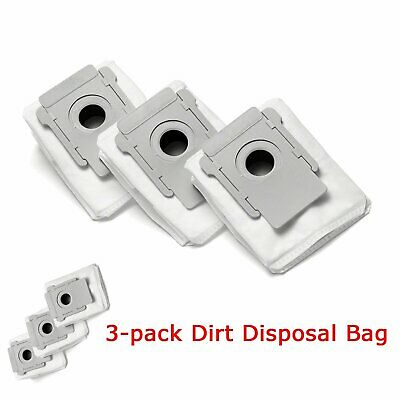 3-Pack Robot Clean Base Dirt Disposal Bags for Roomba I7+ Vacuum base Models