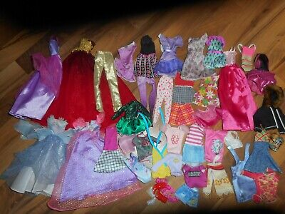 Lot Of Barbie doll clothes clothing FREE SHIPPING USA