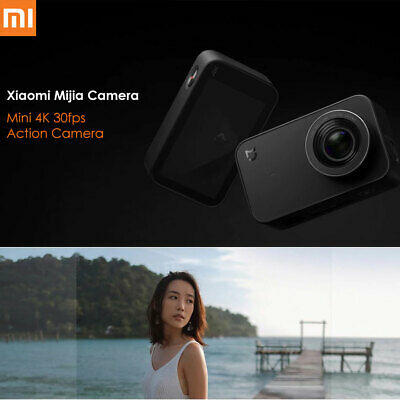 "Xiaomi Mijia 2.4"" Mini 4K 30fps Sports Action Sports Camera International Black"