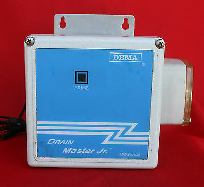 Drain Cleaner System,  Automatic Worry Free  --  Dema  Drain  Master  Junior
