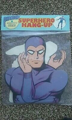 Lee Falk THE PHANTOM New OLD STOCK 1989 SUPERHERO CUT-OUT LIFE SIZE MOVABLE