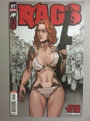 Rags #1 Antarctic Press 3Rd Print Variant Sold Out Lpr!