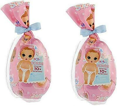 Baby Born Surprise Dolls 2-Pack MGA Series 1 Color Changing Diaper Mystery