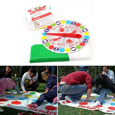 Twister,Game Funny Kid Family Body Twister,Moves Mat Board Game Sport Toys