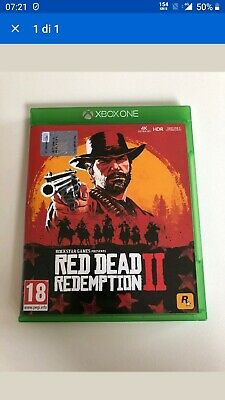Red Dead Redemption 2 - Xbox One - ITA blue ray