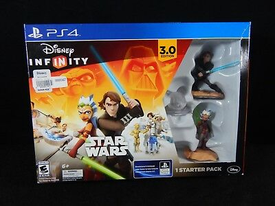Sony Playstation Ps4 Disney Infinity Star Wars 3.0 Starter Pack
