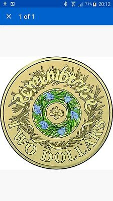 NEW 2017 COLOURED REMEMBRANCE DAY $2 Two Dollar Australian Coin UNC MINT ROLL