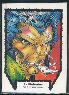 1991 Marvel Wolverine From Then Til Now Series I Trading Card #1 Wolverine